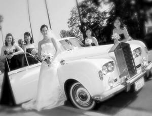 mariage et limousine