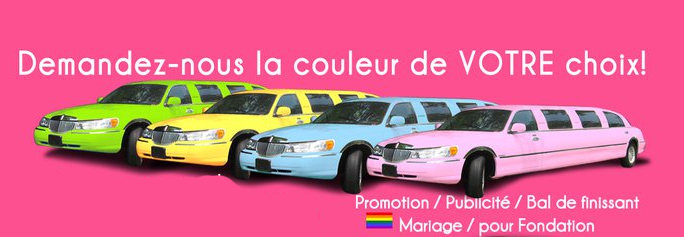 location limousine rose